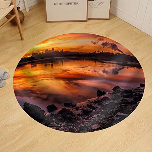 Gzhihine Custom round floor mat a Horizontal Image of Kansas City - Outlet City Stores Kansas