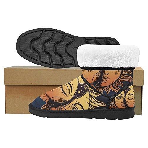 Snow Stivali Da Donna Di Interestprint Stivali Invernali Comfort Dal Design Unico Multi 9