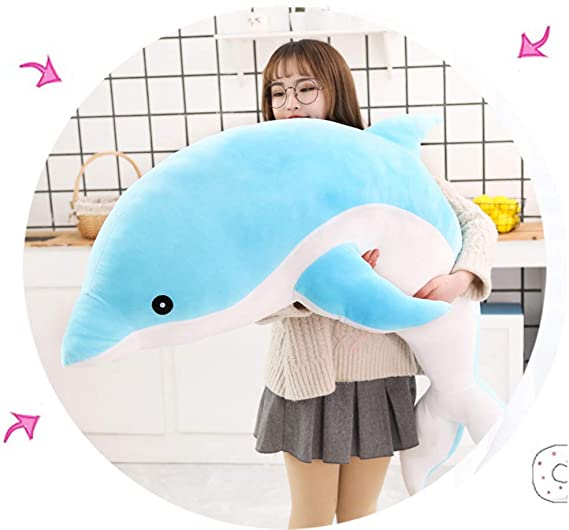 Best Gift for Kids Toddler Boys/&Girls Lovely Cute Whale Shape Stuffed Sea Animal Doll Pillow Home Decoration keebgyy Whale Plush Toy
