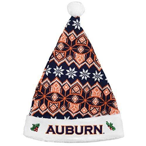 Auburn Tigers Knit Santa Hat – 2015 von Forever Collectibles
