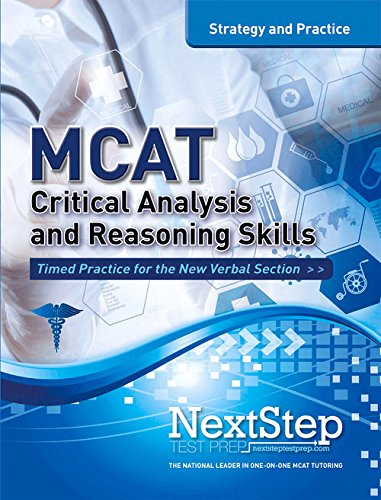 MCAT Critical Analysis and Reasoning Skills: Strategy and Practice (MCAT Strategy and Practice)