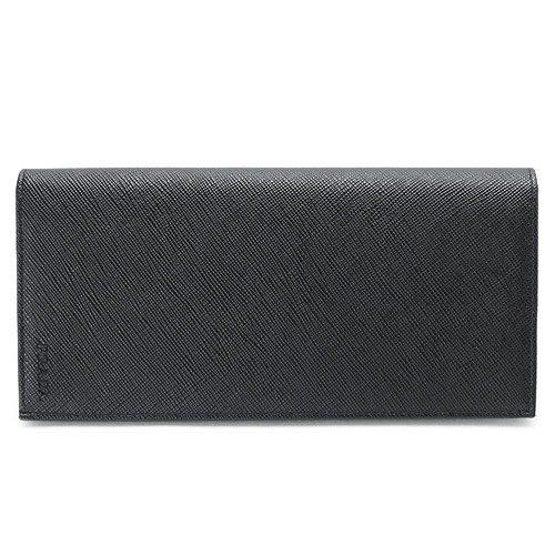 (プラダ) PRADA 長財布 2MV836 053 F0002/SAFFIANO NERO 財布 二つ折り サフィアーノ/型押しレザー ブラック (旧モデル:2M0836)[並行輸入品] B01569O3TS