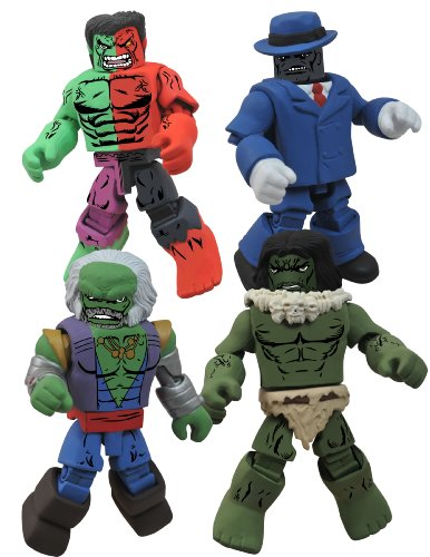 Diamond Select Toys Marvel Minimates: Hulk Through The Ages Box Set