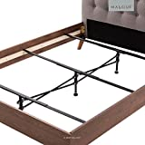 STRUCTURES Adjustable Center Support System for Bed to Replace Wooden Bed Slats - Universal Size Adjusts From Full to Cal King - Adjustable Leg Height