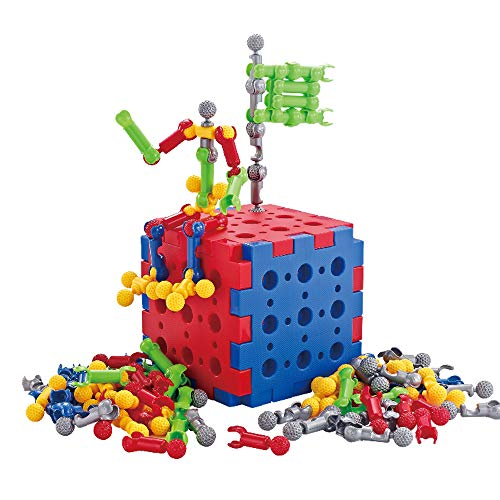 Stem Toys, Building Blocks for Kids- 75 Pieces Creative Construction and Engineering Blocks Toys -Intelligent Learning DIY Stick Building Block for Kids from ToyerBee