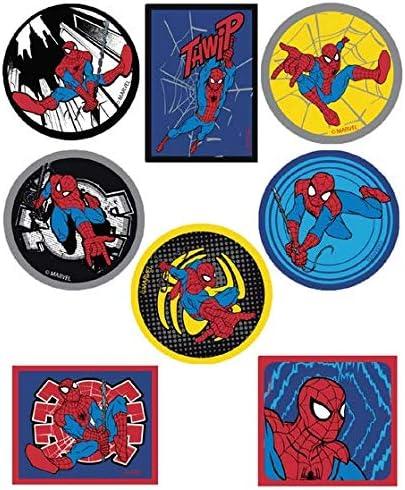 8 parches spiderman comic serigrafiados para planchar - REF.6798-U8: Amazon.es: Hogar