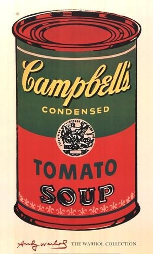 (Andy Warhol - Campbell's Soup Green Red NO LONGER IN PRINT - LAST ONES!!)
