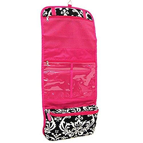 Damask Pink Cosmetics Case Large
