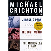 Michael Crichton Value Collection: Andromeda Strain, Jurassic Park, and The Lost World
