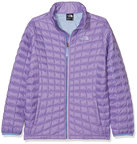 The North Face Kids Girl's Thermoball Full Zip Jacket (Little Kids/Big Kids) Paisley Purple (Prior Season) Large