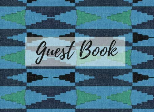 Search : Guest Book: (African Fabric (8), Event Guest Book, For Events, Anniversary, Retirement Party, Wedding, Birthday,101 pages - [Professional Binding]