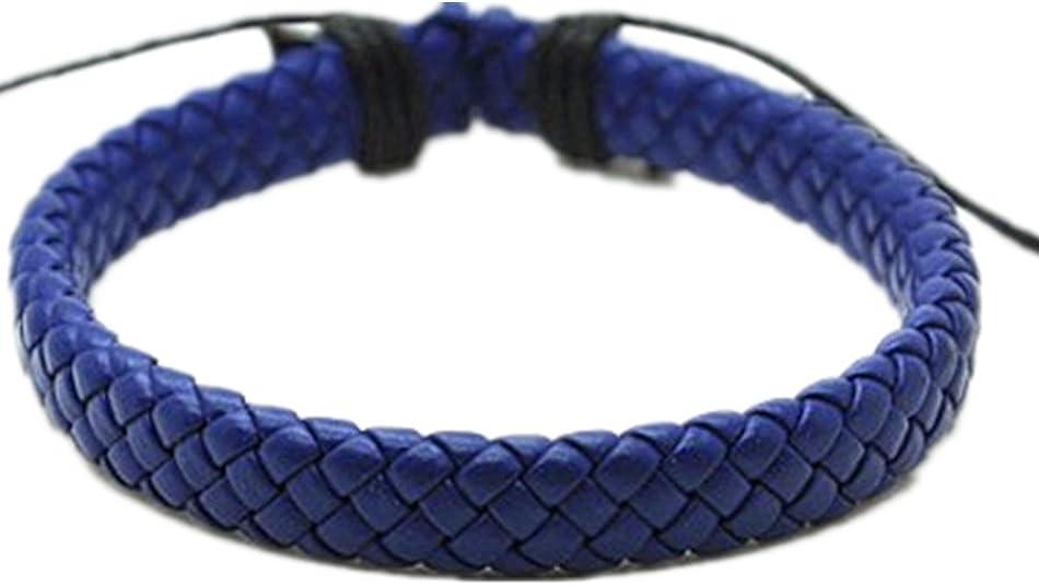 N//O Amycute Basketball Bracelet Sport Wristband Mens Weave Adjustable Bracelet