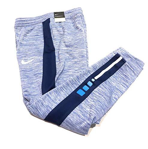Nike Big Boys Therma Elite Basketball Pants - Blue Medium                                        ()