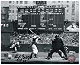 "Bob Feller Cleveland Indians Autographed 8"" x 10"" At Bat Photograph with HOF 62 Inscription - Fanatics Authentic Certified"