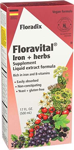 Floravital Liquid Iron Supplement