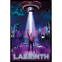 Labrinth Poster and Frame (Plastic) - Electronic Earth, Beneath Your Beautiful, Ufo (36 x 24 inches)