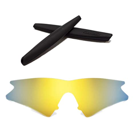 973c662dfaff Walleva Replacement Lenses + Rubber for Oakley M Frame Sweep Sunglasses -  11 Options Available (