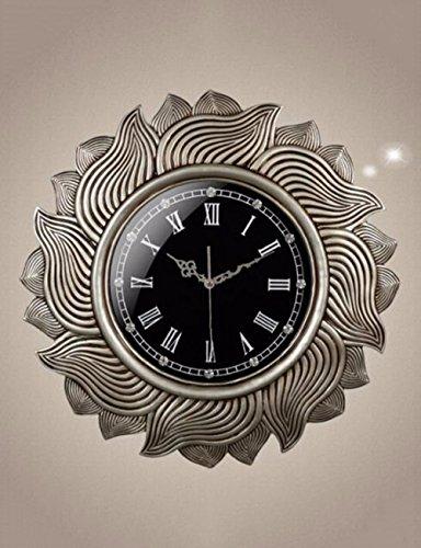 SUNQIAN-European style living room wall clock, creative watch, bedroom single clock, American mute fashion watch by SUNQIAN