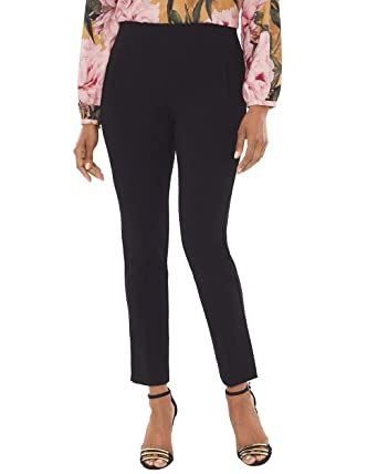 040902263bfe1 Chico s Women s So Slimming Juliet Ponte Ankle Pants at Amazon ...