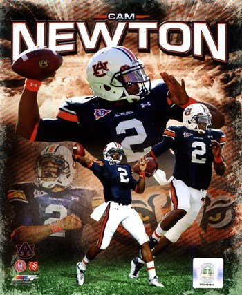 Cam Newton 2011 Auburn University Portrait Plus Photo Print (8 x 10)