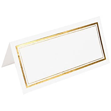 amazon com jam paper foldover table placecards 2 x 4 1 2