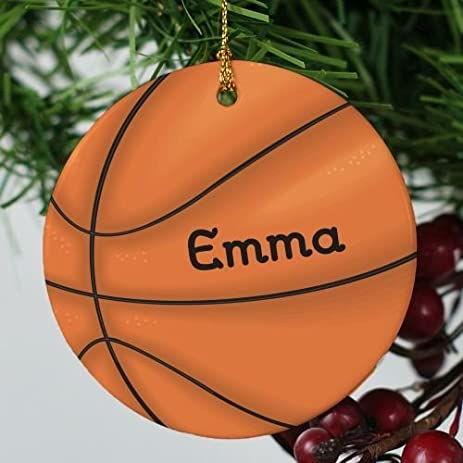 christmas decorations ornament basketball personalized ornaments for crafts ceramic