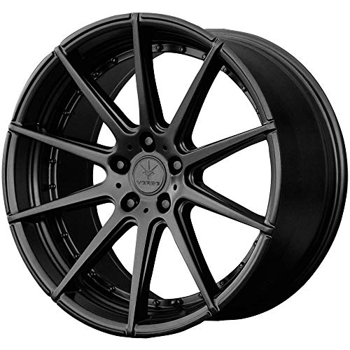 (Verde Custom Wheels Insignia Satin Black Wheel with Painted Finish (20 x 11. inches /5 x 4 mm, 25 mm Offset))