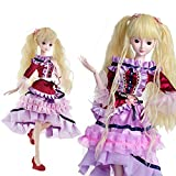Grace 1/3 BJD Dolls Full Set 60cm 24'' Jointed Dolls Toy Action Figure + Makeup + Accessory Gift