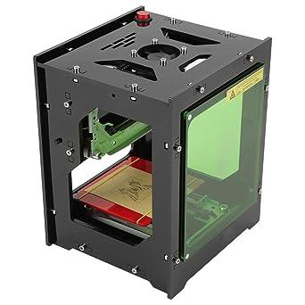 1500mW Impresora láser grabadora, 550 * 550 Qiilu Impresora láser ...