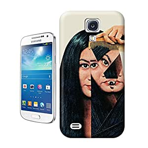 Tostore The girl creative collage art Normalization battery cover for samsung galaxy s4 case