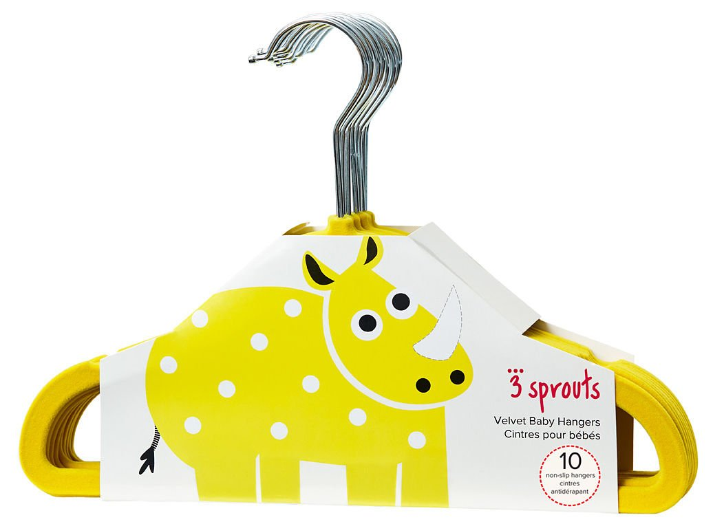 3Sprouts grucce, Rhino giallo 1 Two Kids UHNRHN