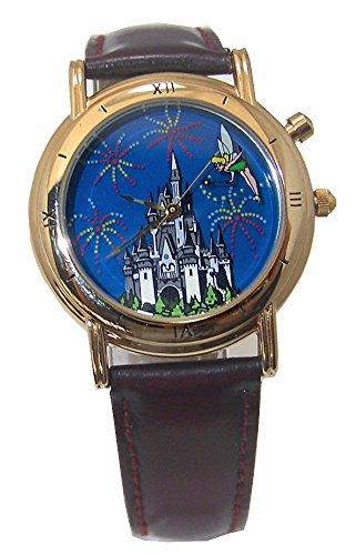 Tinker Bell Watch Disney World 25th Anniversary Backlit Wristwatch set