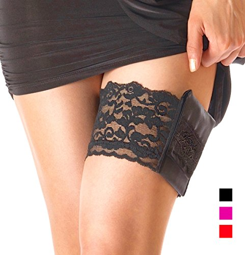 (Stashbandz Garter Purse, Stays Put Silicone Grip & 2 Secure)
