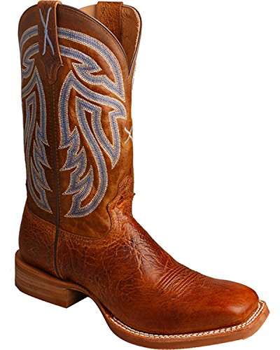 Mra0001 Toe Men's Twisted Boot Rancher Peanut Cowboy Square X zgg7qwp