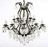 Cheap Swarovski Crystal Trimmed Chandelier! Wrought Iron Chandelier Lighting Chandeliers Dressed with Swarovski Crystal
