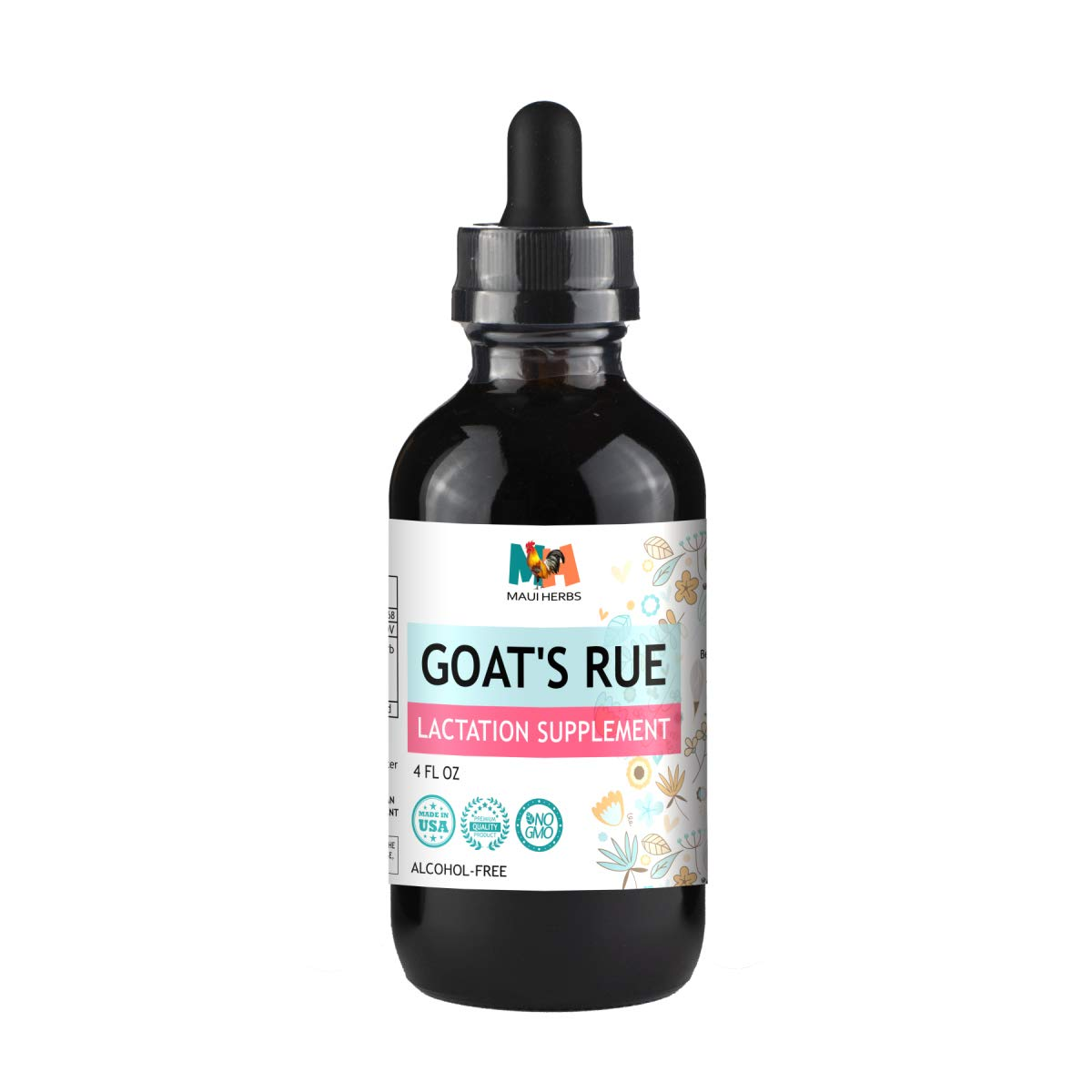 Goat s Rue Tincture Alcohol-Free Liquid Extract, Organic Goat s Rue Herb Galega officinalis 4 FL OZ