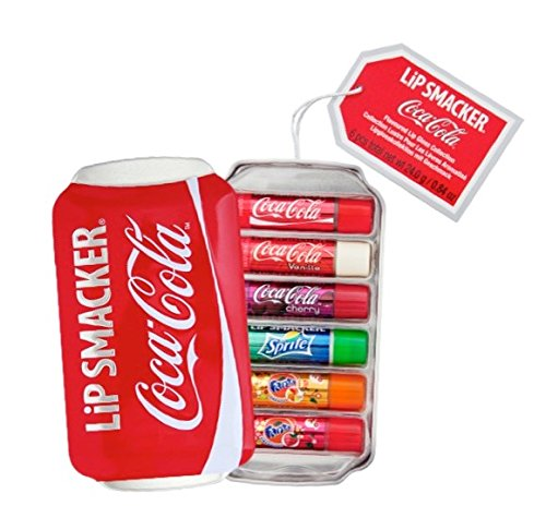 Price comparison product image Lip Smacker Coca Cola Lip Balm 6 Pack Can Gift Set