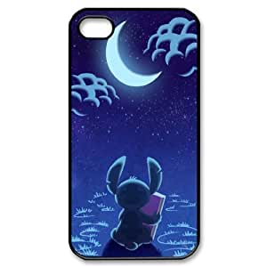 James-Bagg Phone case Cute Stitch - Ohana Protective Case For Iphone 4 4S case cover Style-19