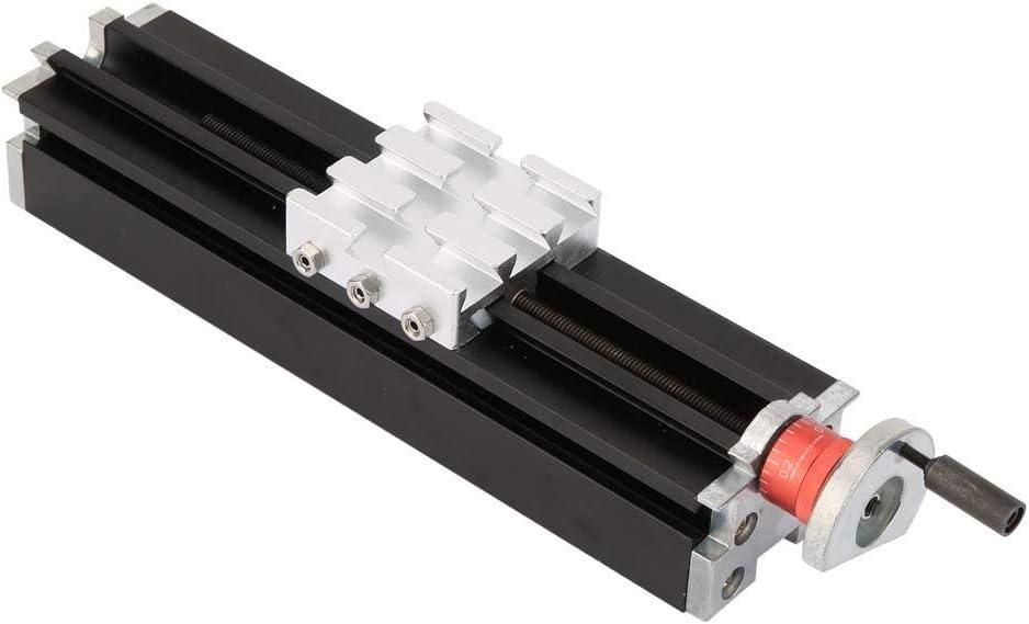 Bloque deslizante cruzado de metal de 200 mm Z010M Torno de hierro Deslizador horizontal Eje X/Y/Z para equipos médicos de alta precisión