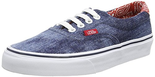Vans Unisex Sneaker von nbsp;&Ndash;Era 59CA Blue (Acid Denim - Blue/Bandana)