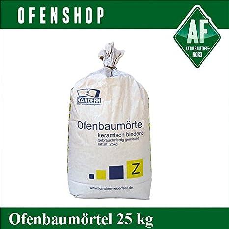 Ofenbautm/örtel Z 25 kg 1300/°C Kandern