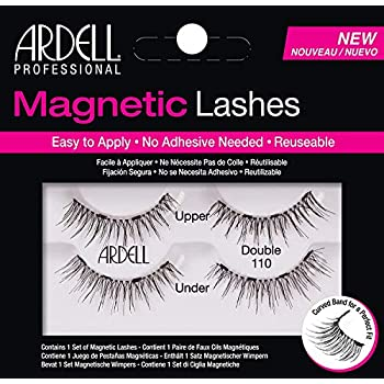 8a9fcebaaeb Amazon.com : Ardell Professional Magnetic Double Strip Lashes, 110 ...