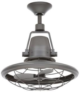 Home Decorators Collection Bentley II 18.90 in. Natural Iron Outdoor Oscillating Ceiling Fan with Wall Control - AL14-NI - The Home Depot
