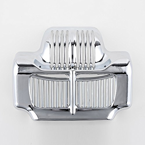 Chrome Stock Oil Cooler Cover for Harley Touring Electra Road Street Glide 2011-2016 ()