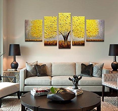 soggiorno moderno decorazione pittura pittura ad olio fabbrica ...