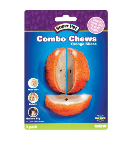 Super Pet Combo Chews Orange Slices, 3-Pack, My Pet Supplies