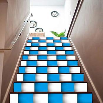 Amazon.com: zhiyu&art decor 3D Stair Decals Stickers Stair