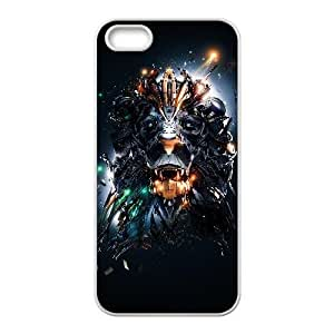 Generic for iPhone 5 5s Cell Phone Case White The Lion King Custom HAAFFGKGK3327
