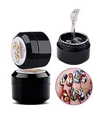Nail Art 8ml Rhinestone Glue Gel Adhesive Resin Gem...