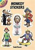Monkey Stickers, Heidi Petach, 0486274934